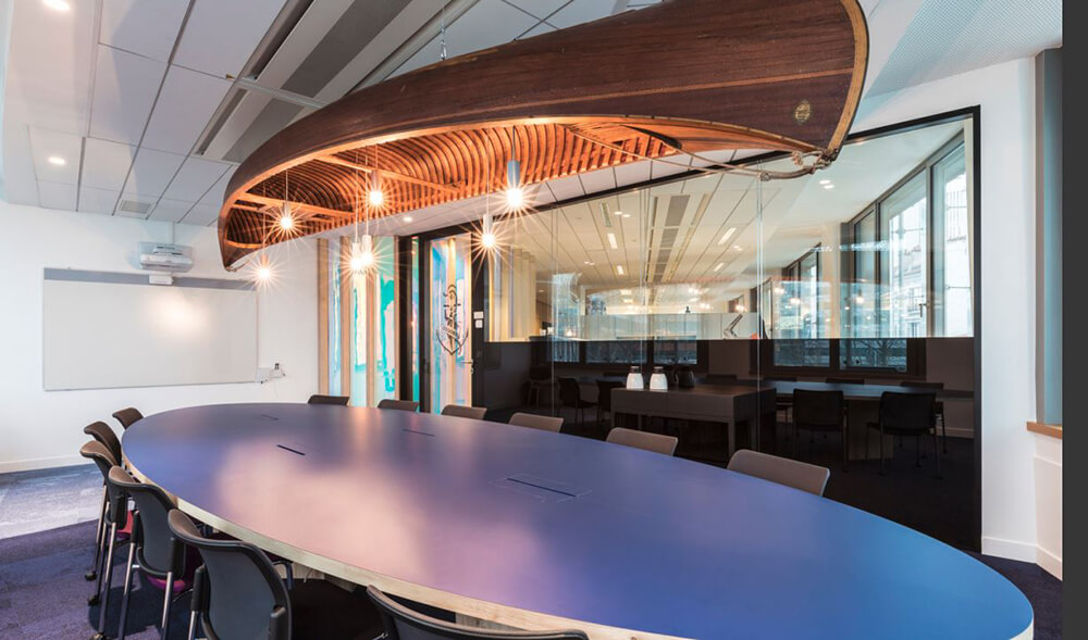 Branded Conference Rooms Make a Statement