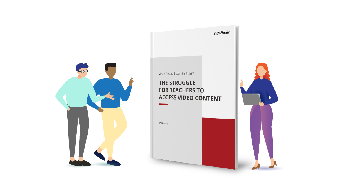 myViewBoard Clips whitepaper: Video-Assisted Learning Insights The Struggle for Teachers to Access Video Content