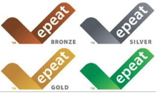 EPEAT Bronze Silver Gold Mark