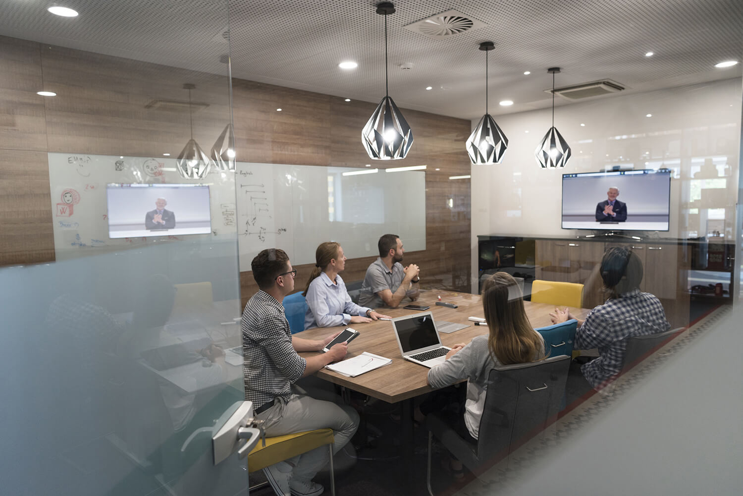 Improved productivity through video conferencing