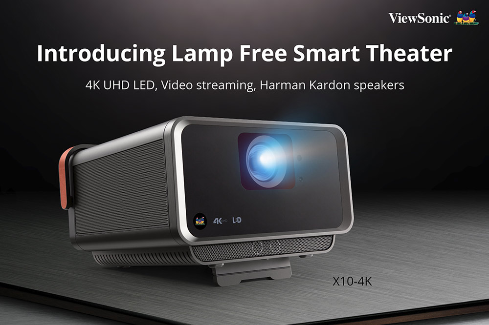 lamp-free eco-friendly projector
