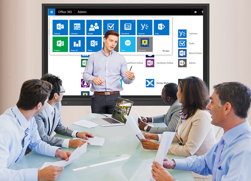 upgrade your conference room with a collaboration display