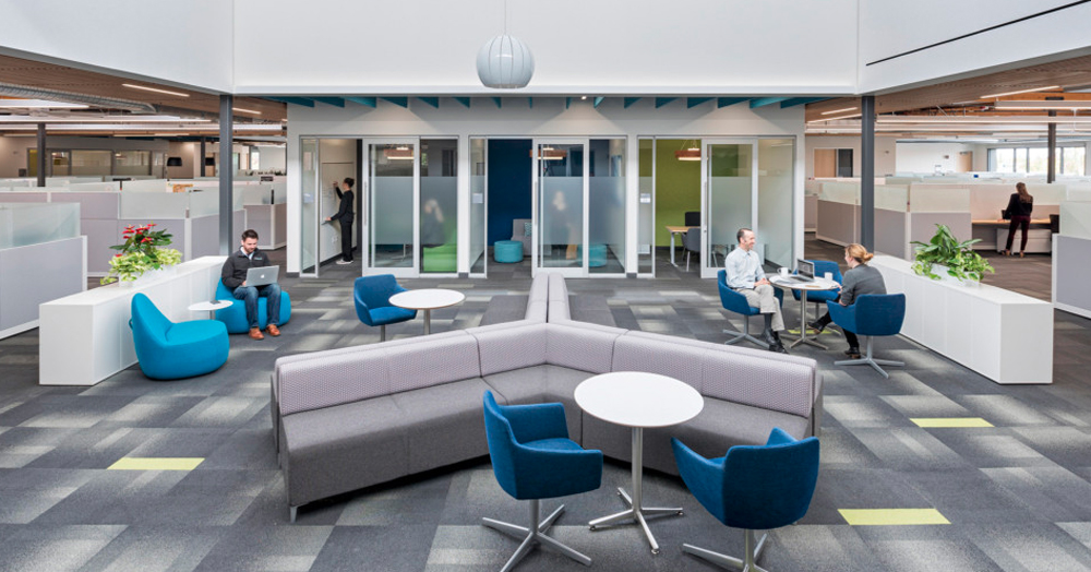 Collaboration Centers in the Workplace