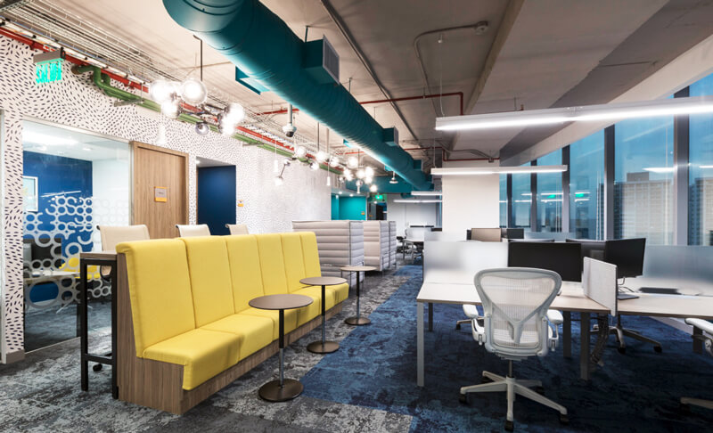 Open Floor Plan Creates Need For Huddle Roomsq