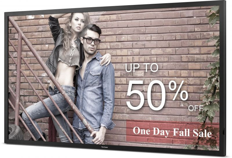 ViewSonic Commercial Display CDE5500-L