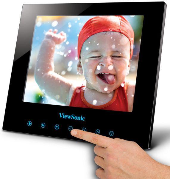 ViewSonic Digital Photo Frame DPG807BK