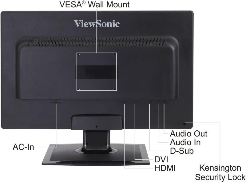 ViewSonic LED Display VX2410mh-LED