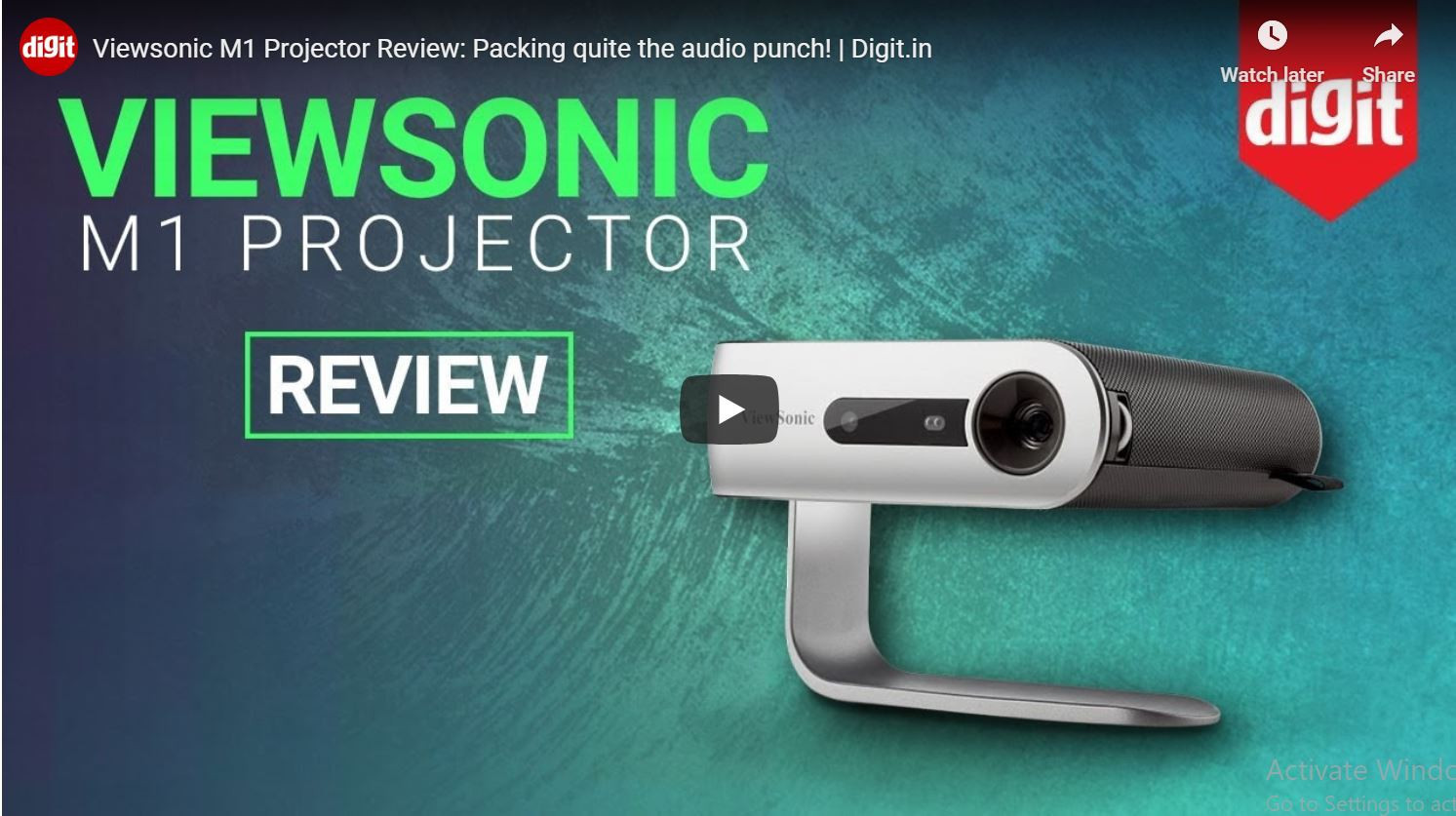 M1 Video review by Digit
