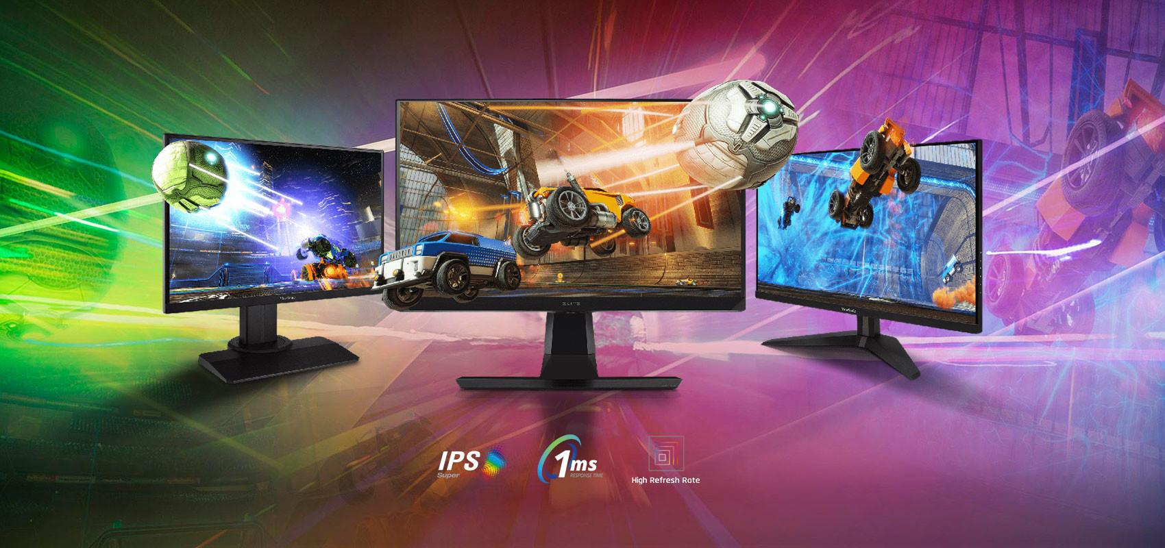 ViewSonic IPS Gaming Monitor Line