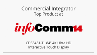CDE8451-TL Commercial Integrator Top Product