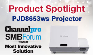 PJD8653ws Projector winner of Most Innovative Solution