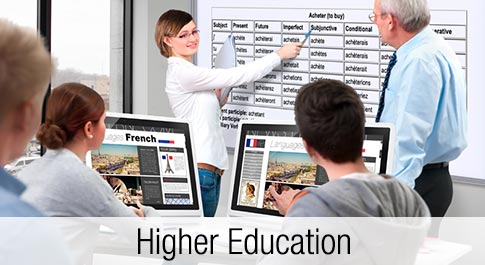 ViewSonic ViewSchool Higher Education program