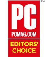 PCMag Editors' Choice Award