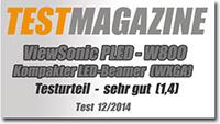 ViewSonic PLED-W800 mit WXGA-Auflösung