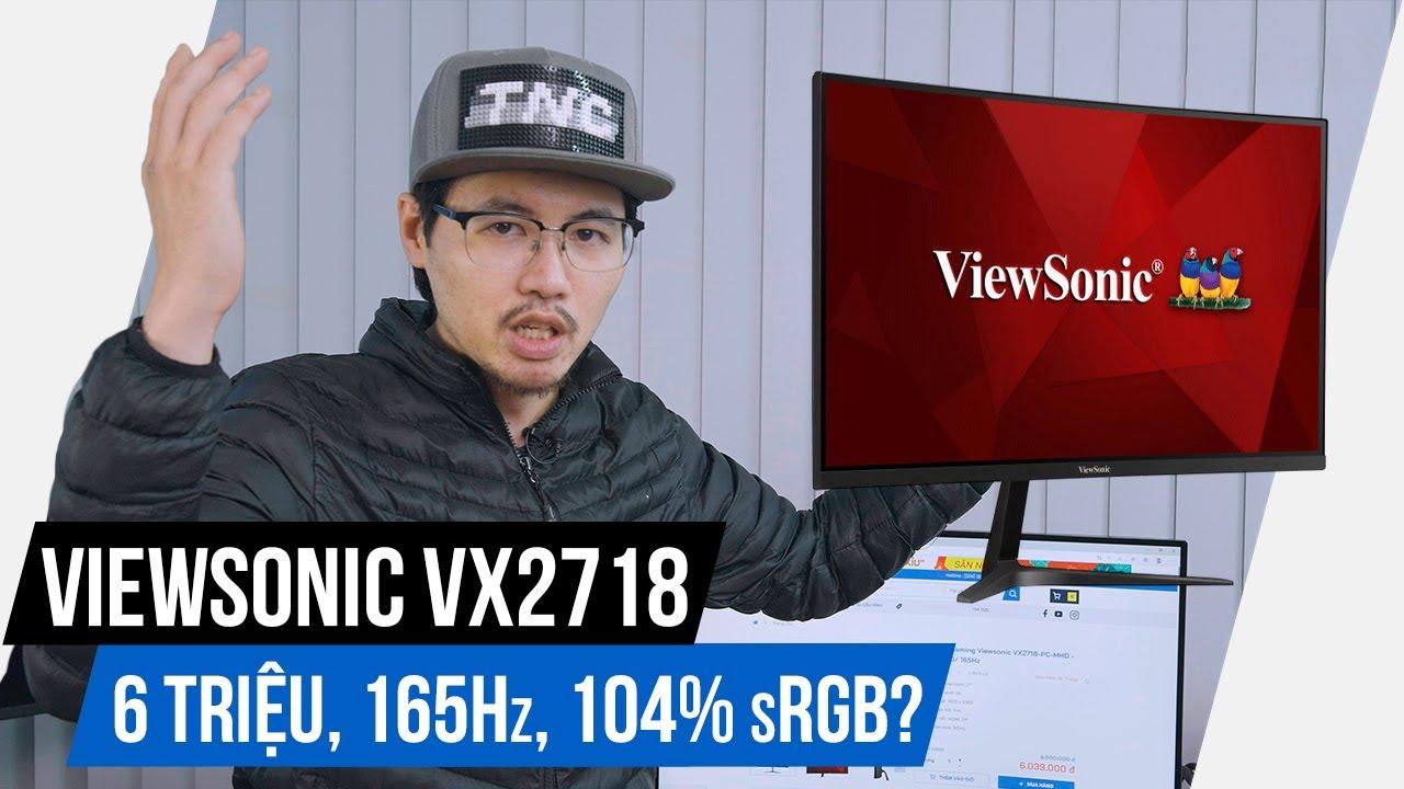 Đánh Giá Chi Tiết Màn Hình Chơi Game ViewSonic VX2718-PC-MHD