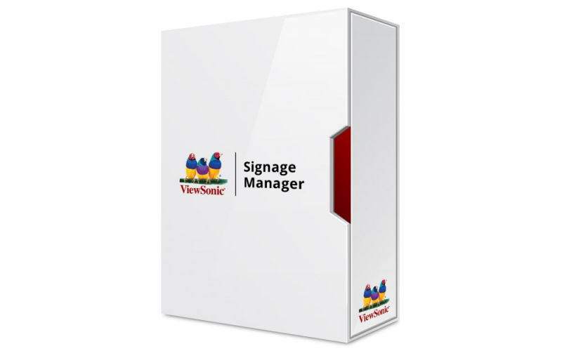 ViewSonic Signage Software Signage Manager