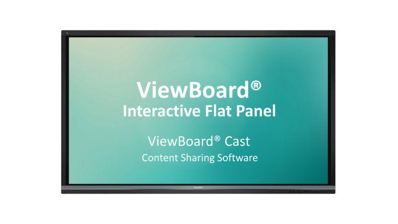 ViewSonic Presentation Software ViewBoard® Cast