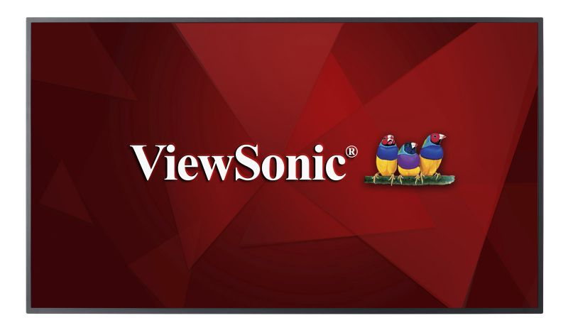 ViewSonic Commercial Display CDE6510