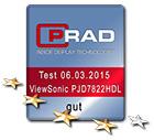 TESTBERICHT: ViewSonic PJD7822HDL