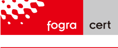 Fogra-certified