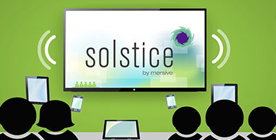Solstice™ Visual Collaboration Solutions: Efficient Wireless Visual Collaboration for Any Number of Users, from Any Device