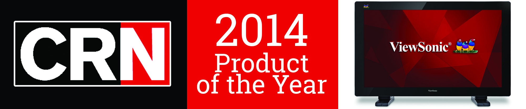 CRN Names ViewSonic's TD3240 Full HD 1080p Projected Capacitive Touch Monitor a 2014 Product of the Year