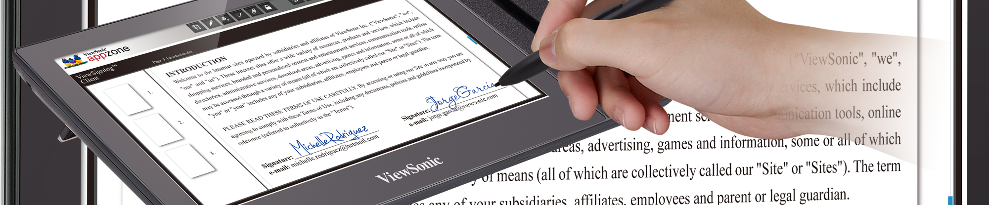 ViewSonic Introduces New Pen Display for Easy and Accurate E-Signing