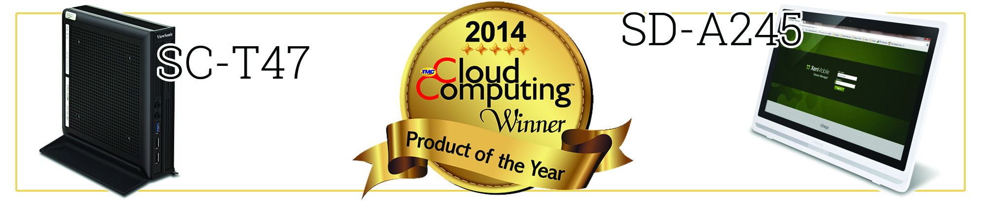 ViewSonic Receives 2014 Cloud Computing Product of the Year Award
