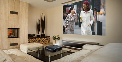 The Benefits of Vertical Lens Shift for Home Entertainment Projection