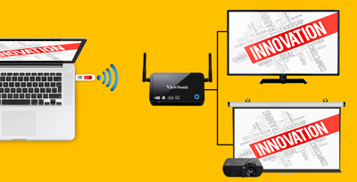 Simplify Interactive Wireless Classroom Presentation with ViewSync® 3