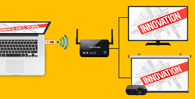 SMBs Gain Cost-Conscious Interactive Wireless Presentation with ViewSync® 3