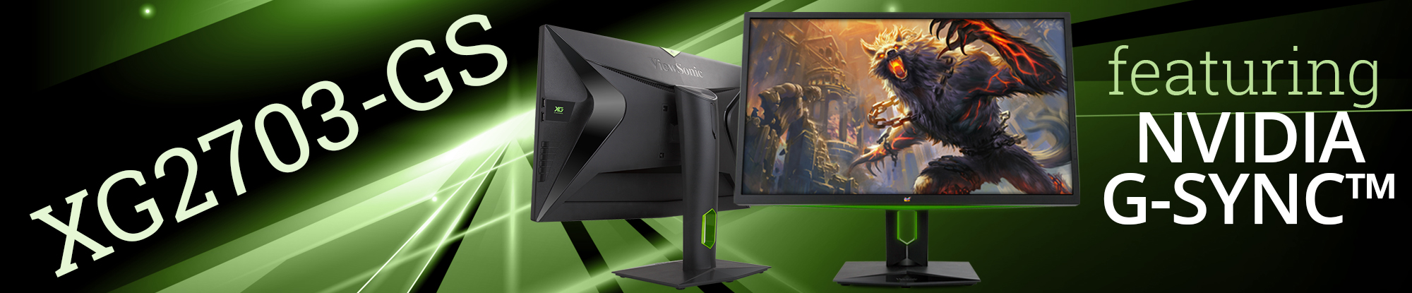 ViewSonic's 165Hz Gaming Monitor with NVIDIA G-SYNC™ Technology Now Shipping