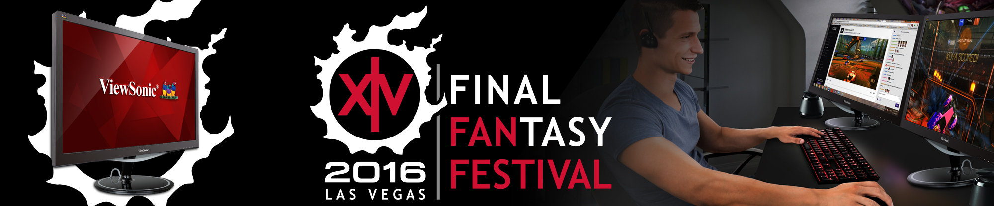 ViewSonic Partners with SQUARE ENIX as Sponsor of Final Fantasy XIV Fan Festival 2016