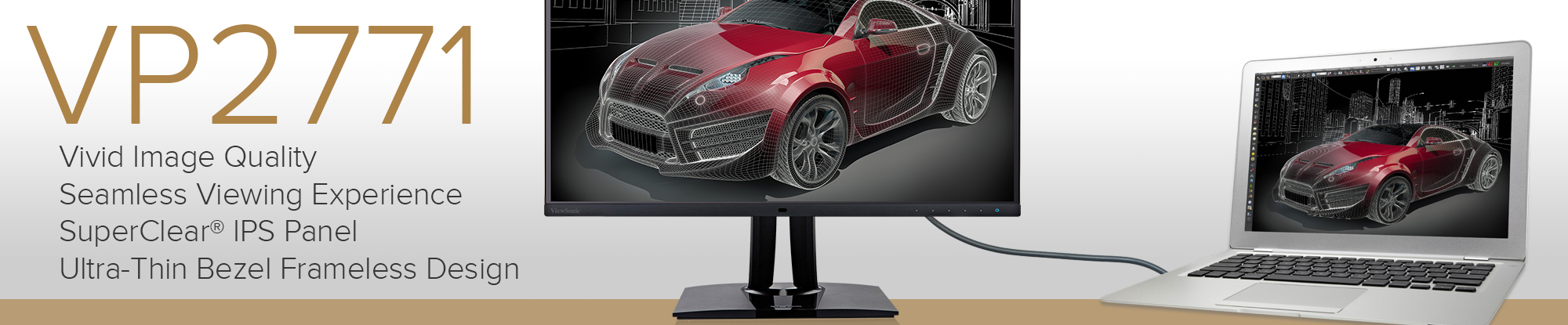 ViewSonic Introduces WQHD 27-inch Professional Monitor with Outstanding Color Accuracy and Screen Uniformity for Color-Critical Applications