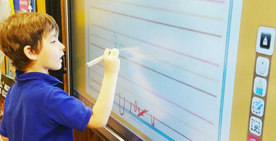 Parish School Replaces Aging SMART Boards with ViewSonic® ViewBoard®