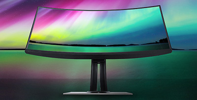 Curved Monitor Benefits For Unique Applications