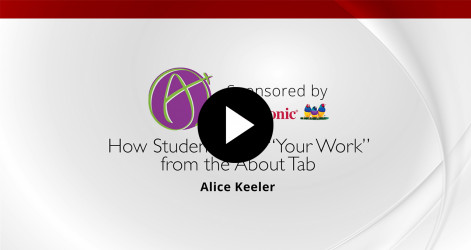 "35. How Students View ""Your Work"" from the About Tab"