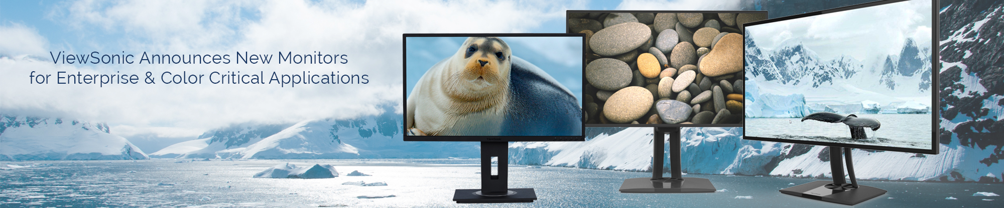 ViewSonic Introduces New Professional and Enterprise Monitors; Features Premium Color Reproduction, Thunderbolt™ 3 Connectivity and Premium Front-of-Screen Experience