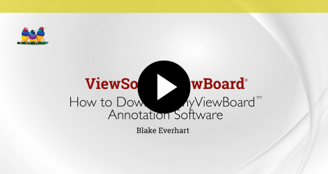 1. How to Download myViewBoard Annotation Software