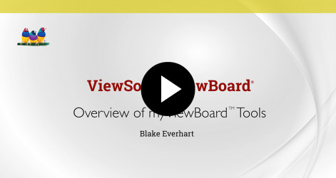 3. Overview of myViewBoard Tools