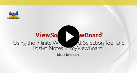 6. Using the Infinite Whiteboard, Selection Tool, and Post-It Notes