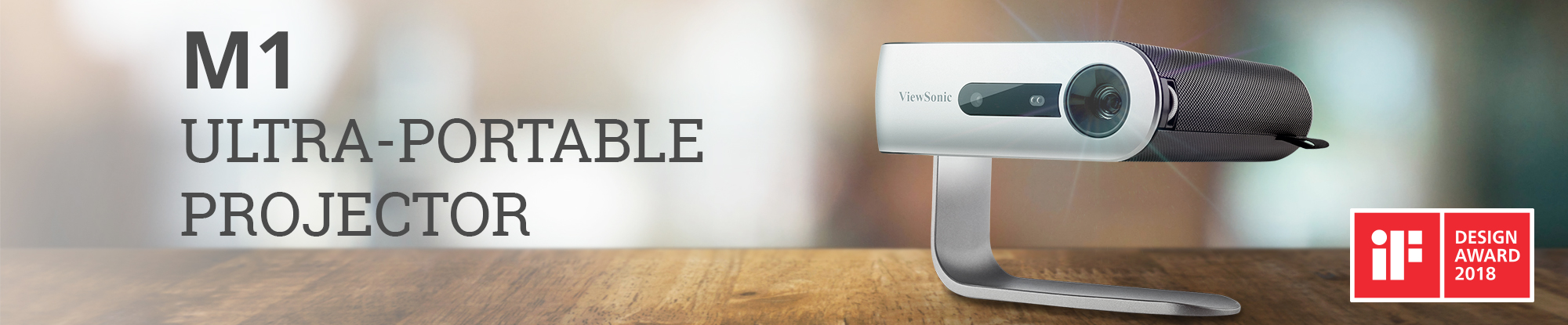 ViewSonic Ultra-Portable Projector Featuring Dual Harman Kardon® Speakers and 6 Hours* of Battery Life Now Shipping