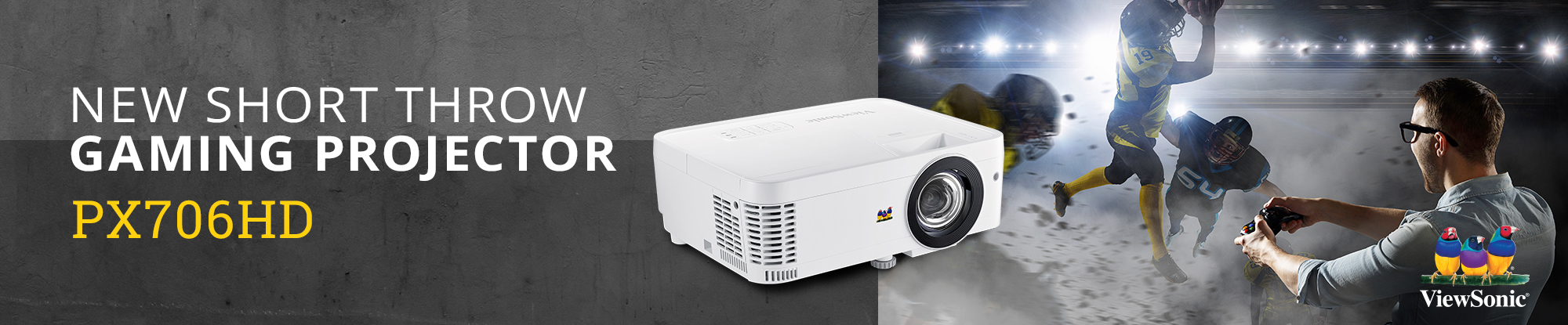 ViewSonic Introduces Budget Conscious Gaming Projectors for Immersive, Big-Screen Experiences