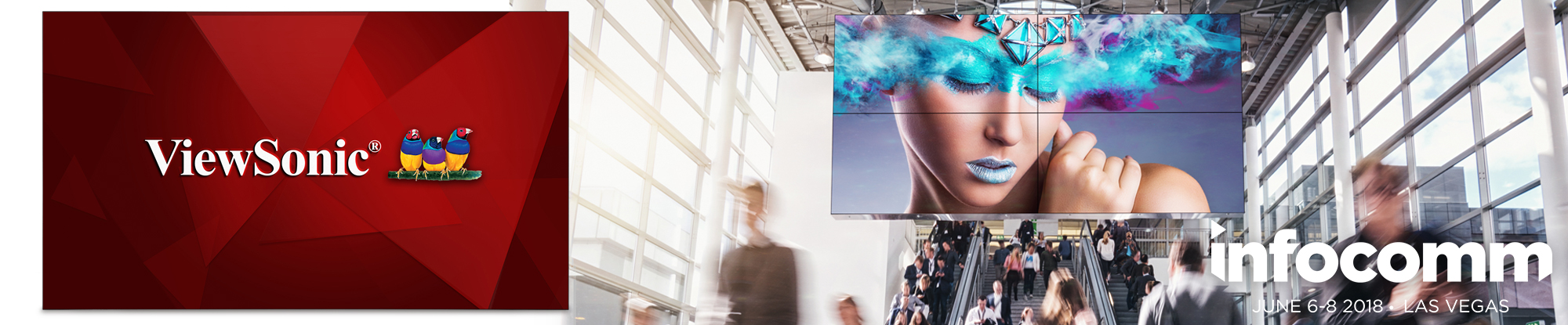 ViewSonic Ships 55-inch Commercial Display with Super Narrow Bezel for Nearly Seamless, High-Impact Video Wall Applications