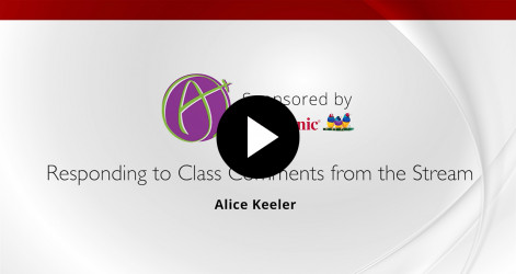 Responding To Class Comments - Alice Keeler