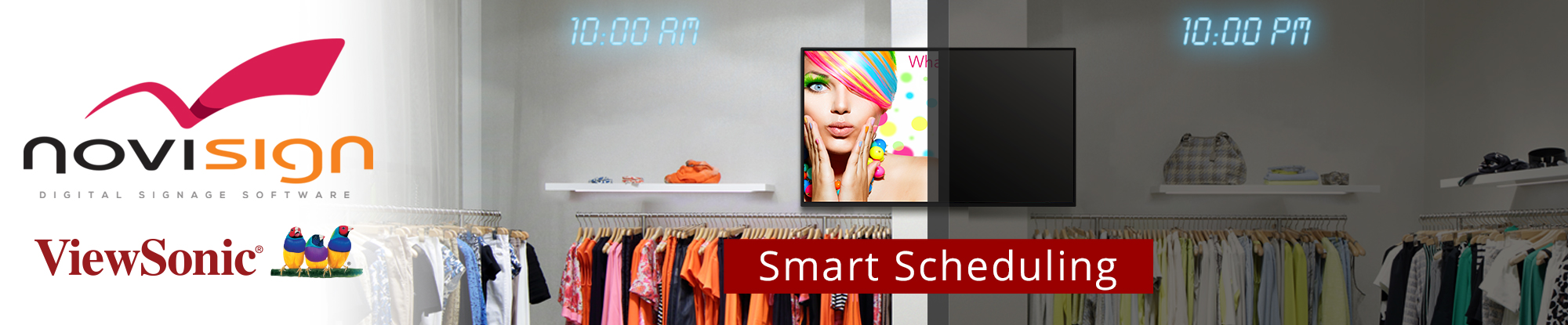 ViewSonic and NoviSign Digital Signage Announce Partnership to Deliver New Stunning Display and Software Solutions to Transform Education and Restaurant Spaces