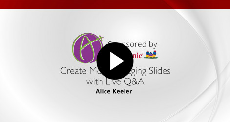 Create More Engaging Slides with Live Q&A - Alice Keeler