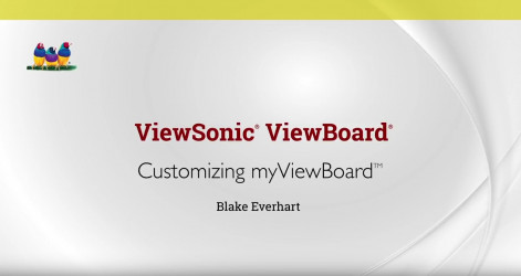 Customizing myViewBoard - Blake Everhart