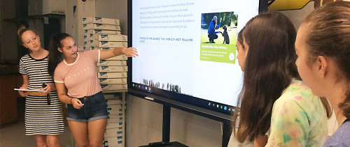 School District Drives Change with ViewSonic® ViewBoard® Interactive Displays