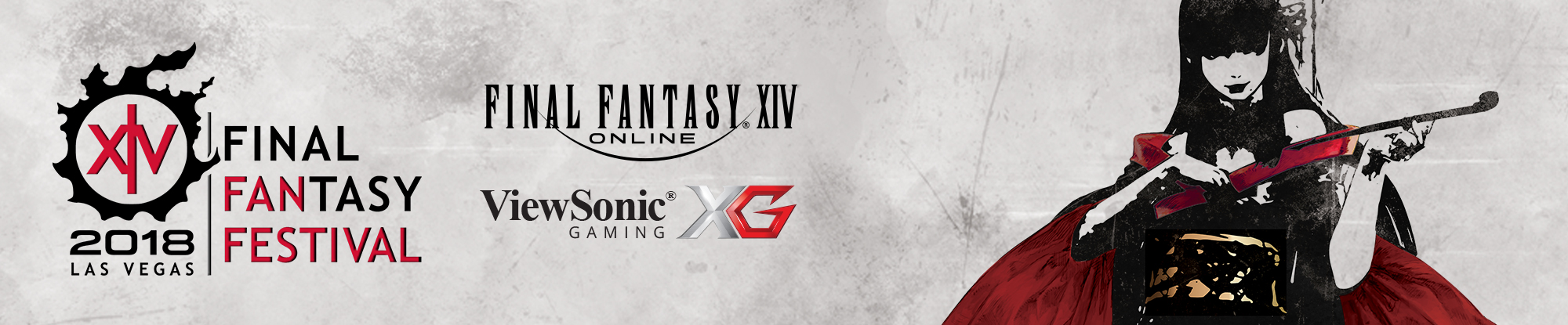 ViewSonic Collaborates with SQUARE ENIX as Official Monitor Sponsor of the 2018 Final Fantasy XIV Fan Festival